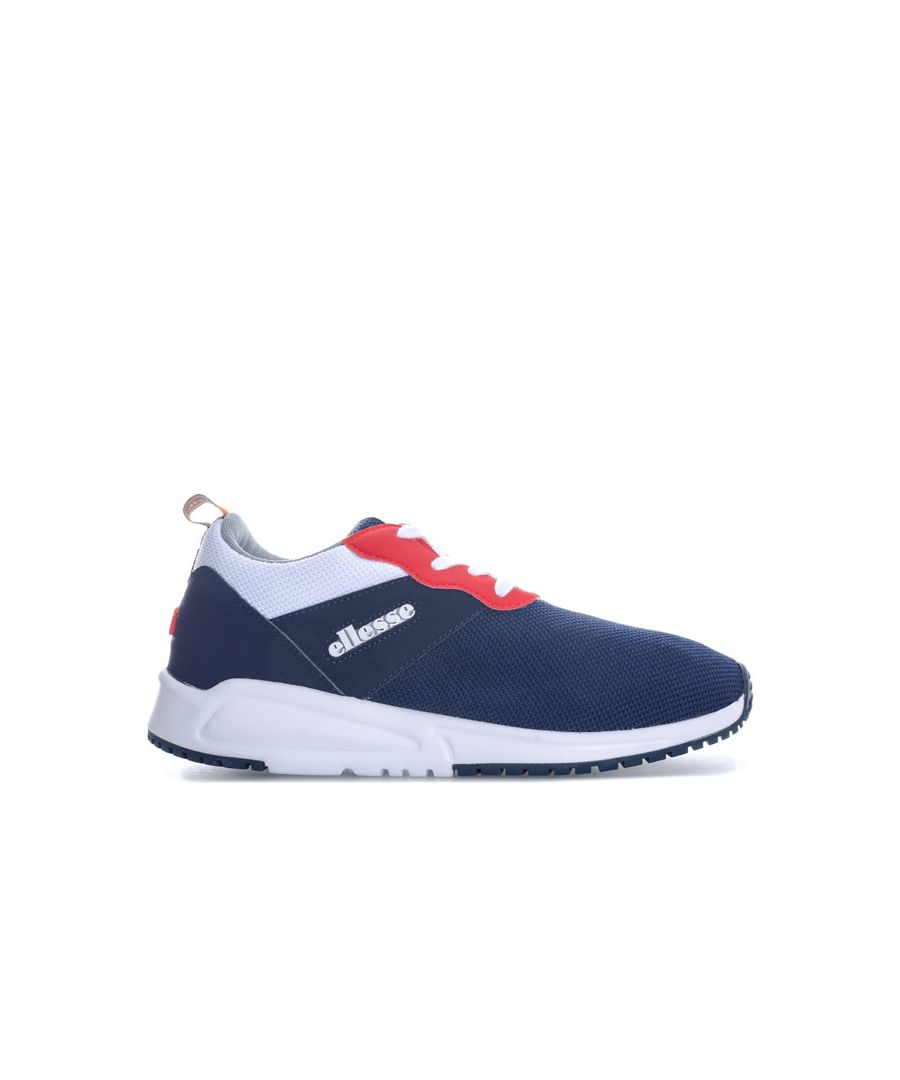 Image for Women's Ellesse Siena Trainers in Navy-White