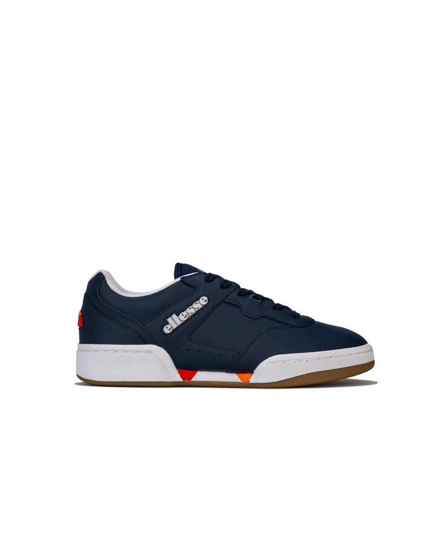 Image for Men's Ellesse Piacentino 2.0 LTHR Trainers in Navy