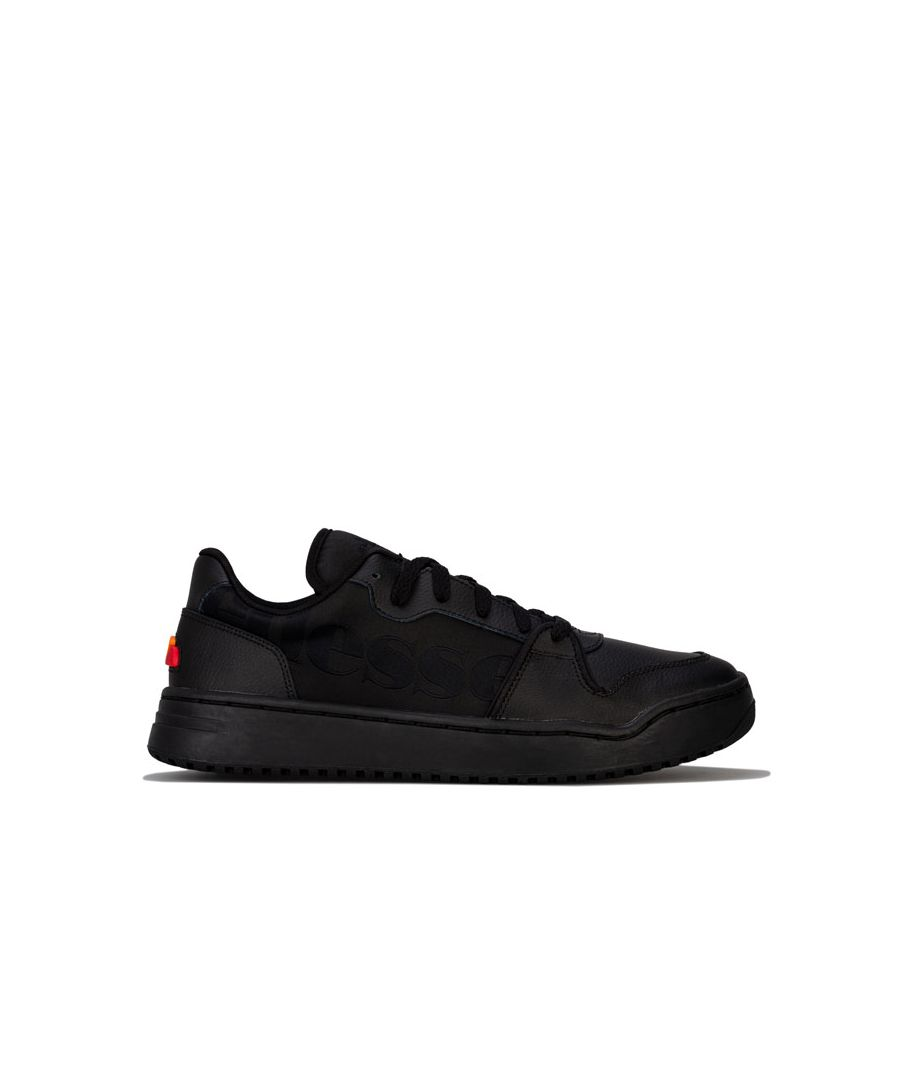 Image for Men's Ellesse Assist Lo 2.0 LTHR Trainers in Black