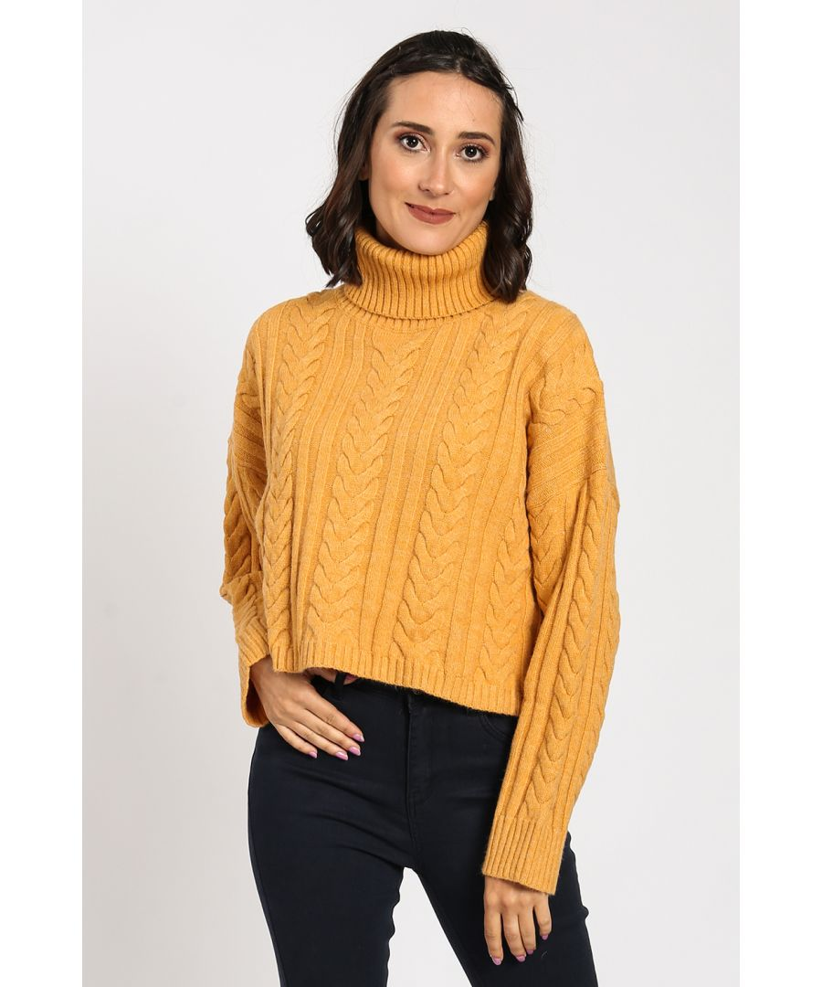 Image for Ribbed Turtleneck Sweater