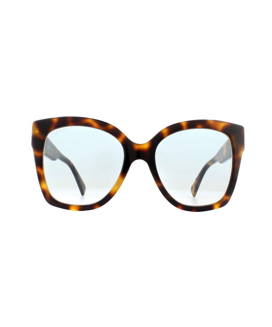 Image for Gucci Sunglasses GG0459S 003 Havana Blue