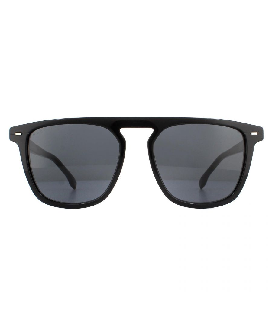 Image for Hugo Boss Sunglasses BOSS 1127/S 807 IR Black Grey