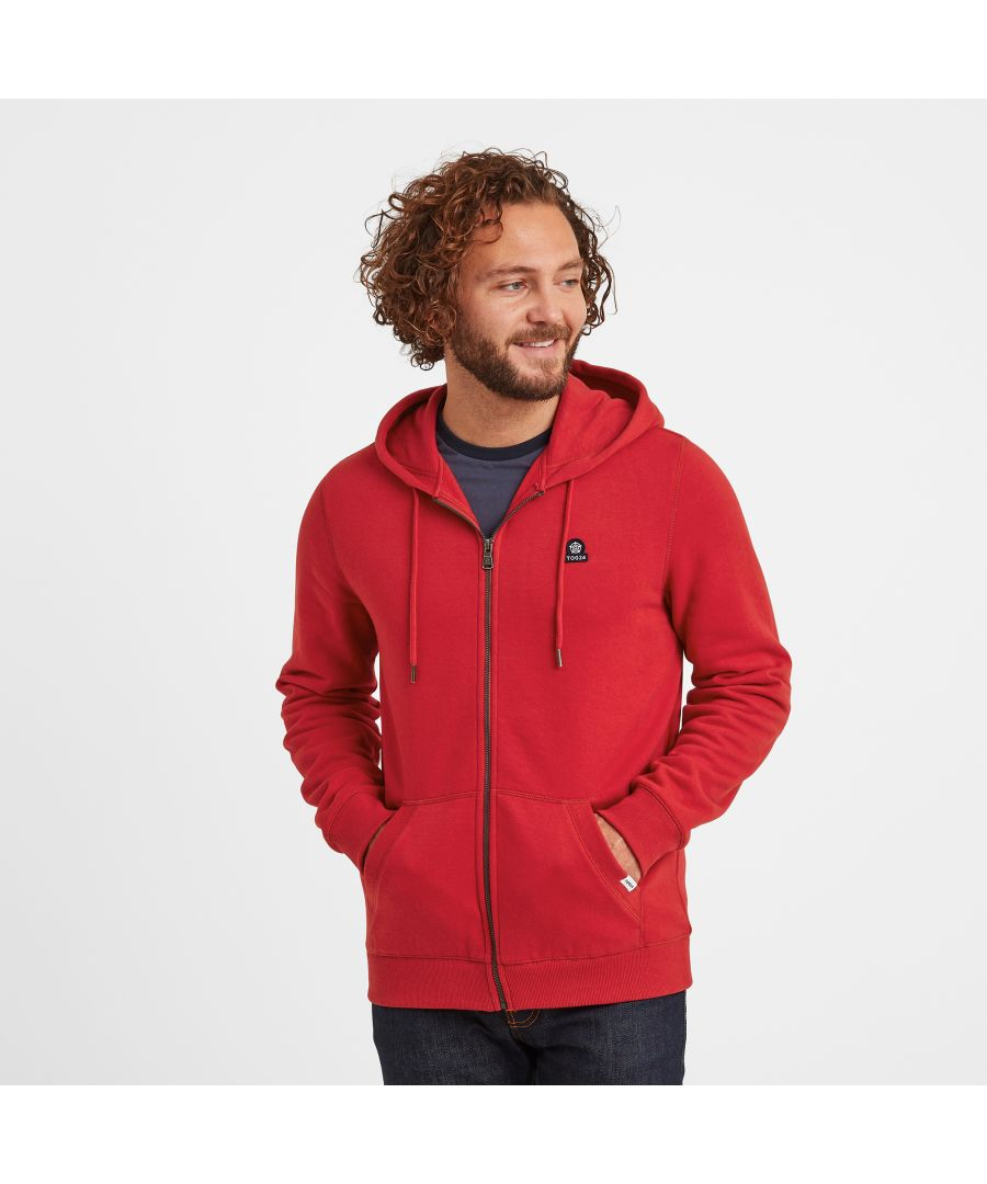 Image for Alden Mens Hoodie Chilli Red