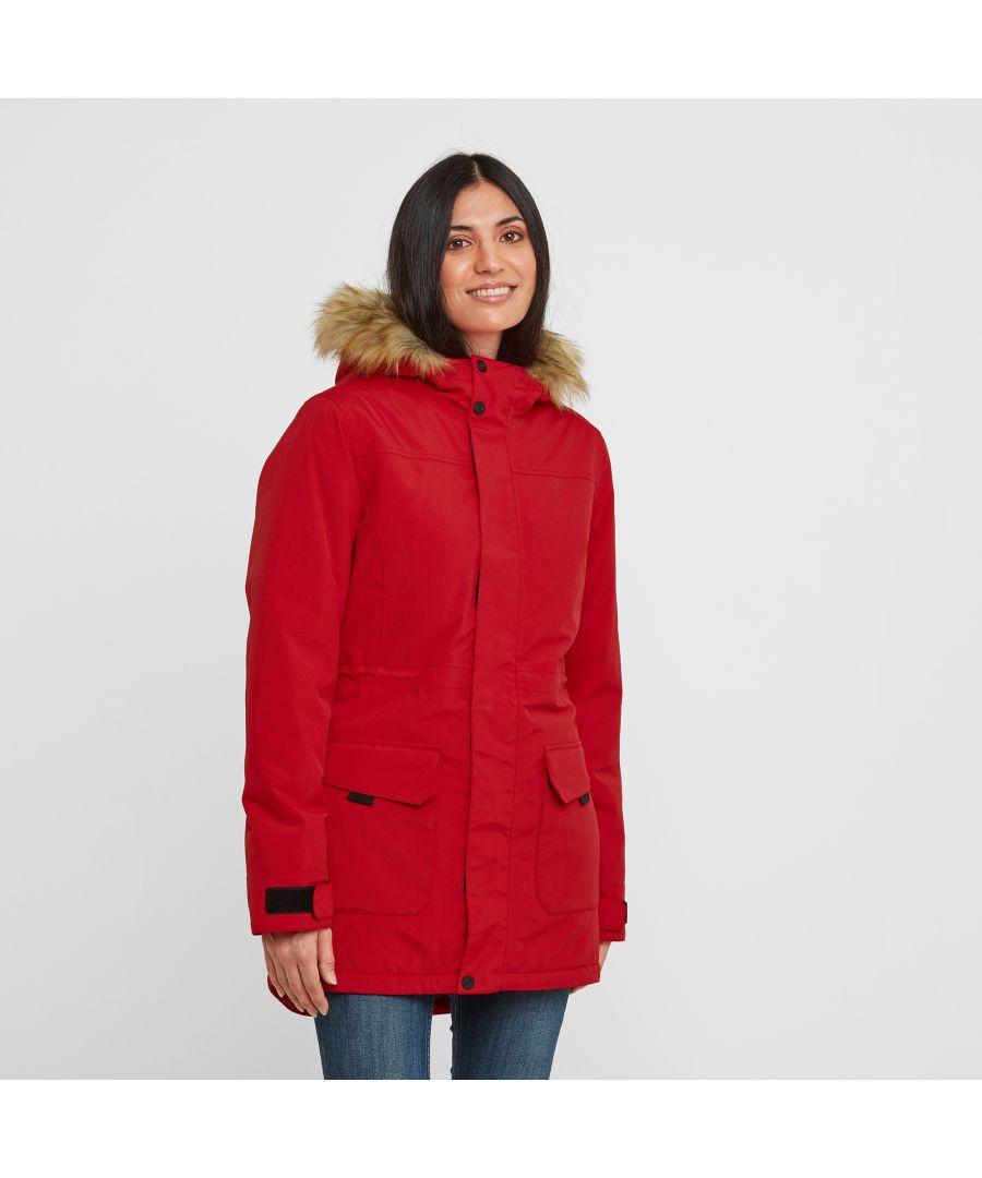 Image for Alderidge Womens Waterproof Parka Rouge Red