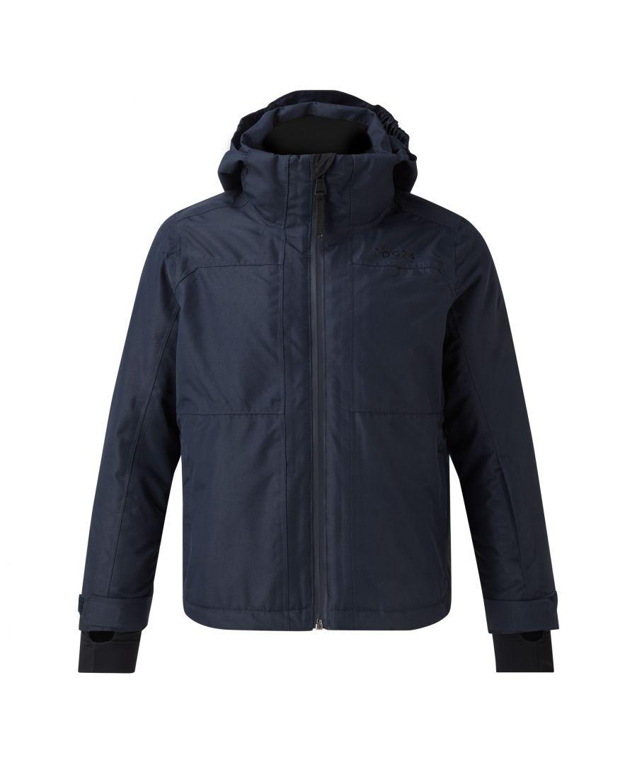 Image for Bedlam Kids Waterproof Insulated Ski Jacket Navy