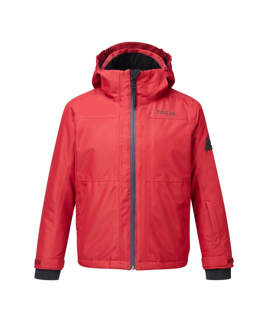 Image for Bedlam Kids Waterproof Insulated Ski Jacket Chilli Red