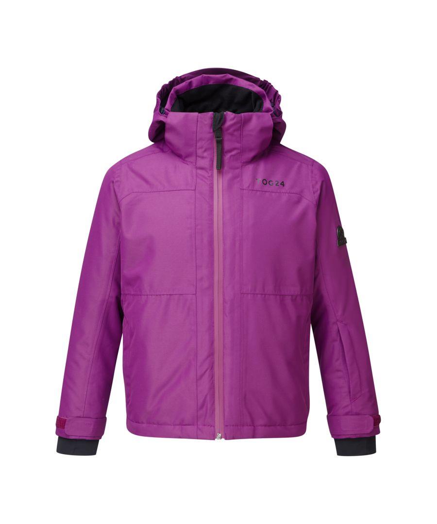 Image for Bedlam Kids Waterproof Insulated Ski Jacket Grape