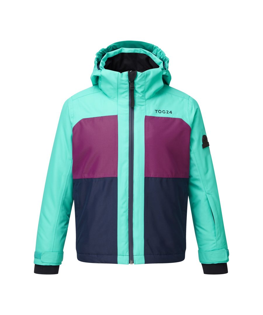 Image for Bedlam Kids Waterproof Insulated Ski Jacket Ceramic/Grape/Navy