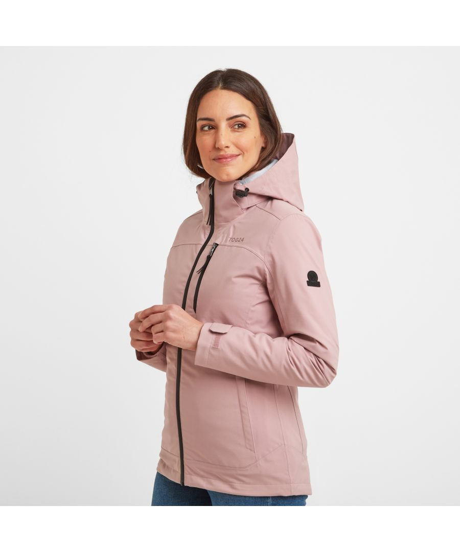 Image for Beverley Womens Waterproof 3-in-1 Jacket Faded Pink