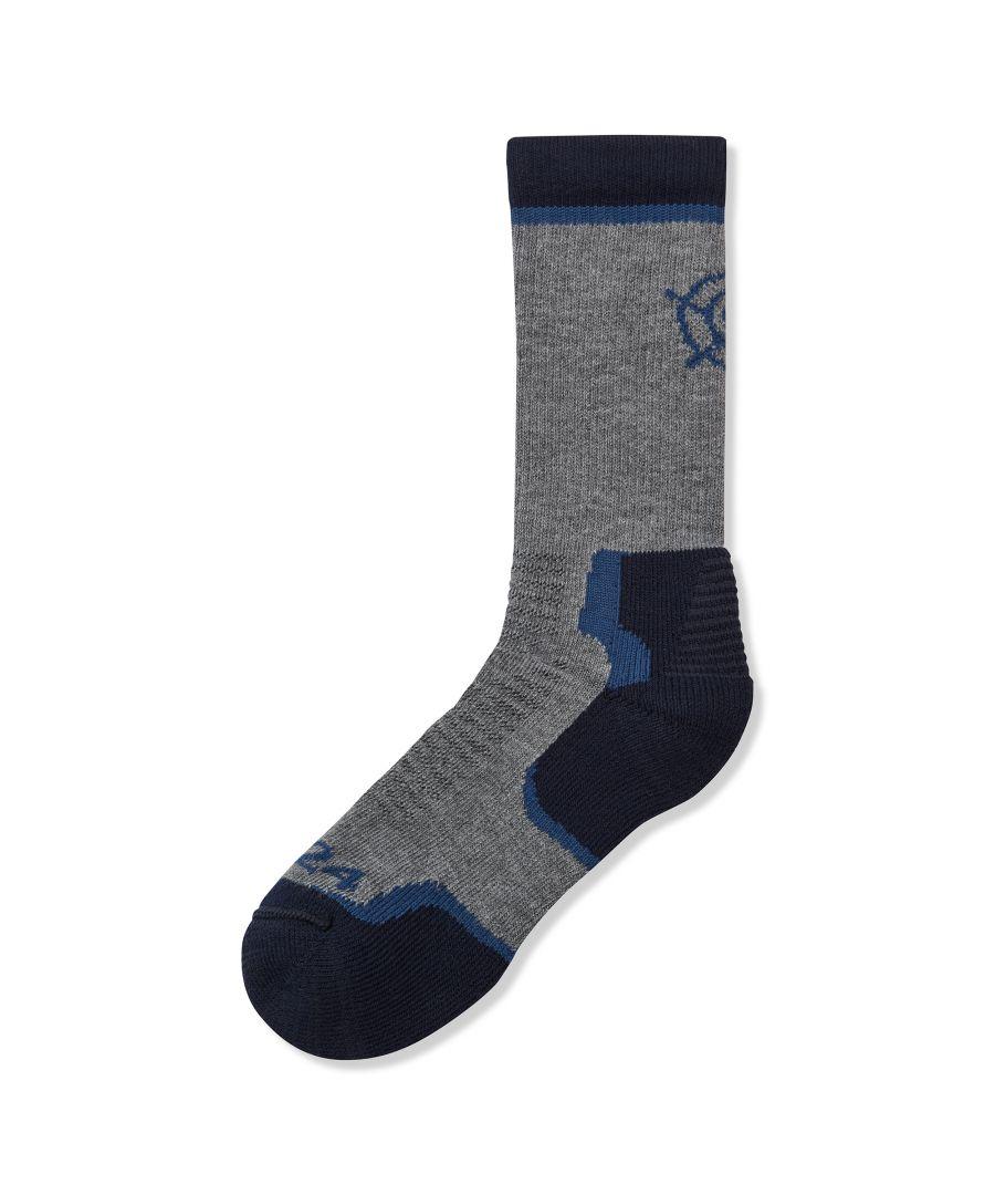 Image for Bishop Coolmax Trek Socks Nile Blue