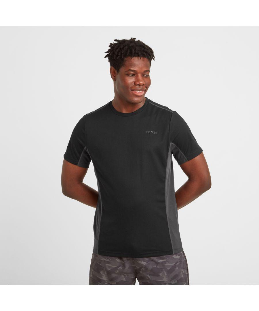 Image for Blackwell Mens Tech T-shirt Black/Coal Grey
