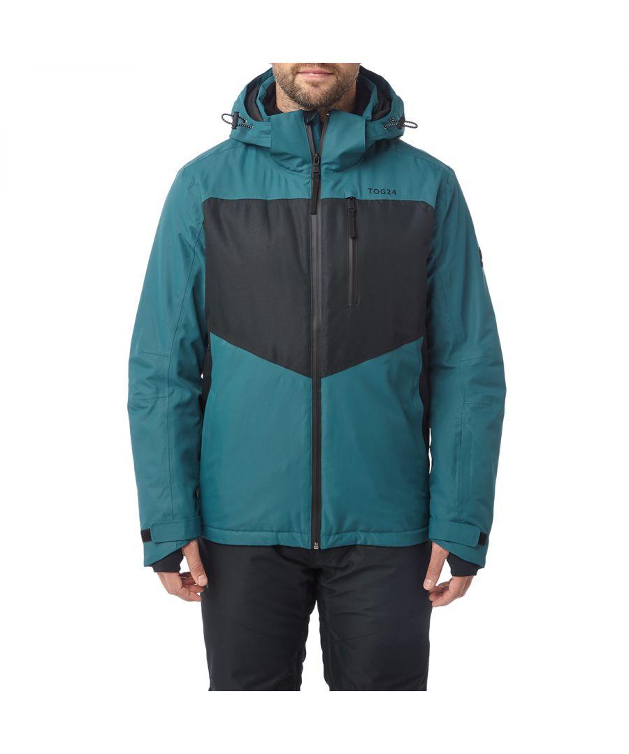 Image for Blade Mens Waterproof Insulated Ski Jacket Lagoon/Black