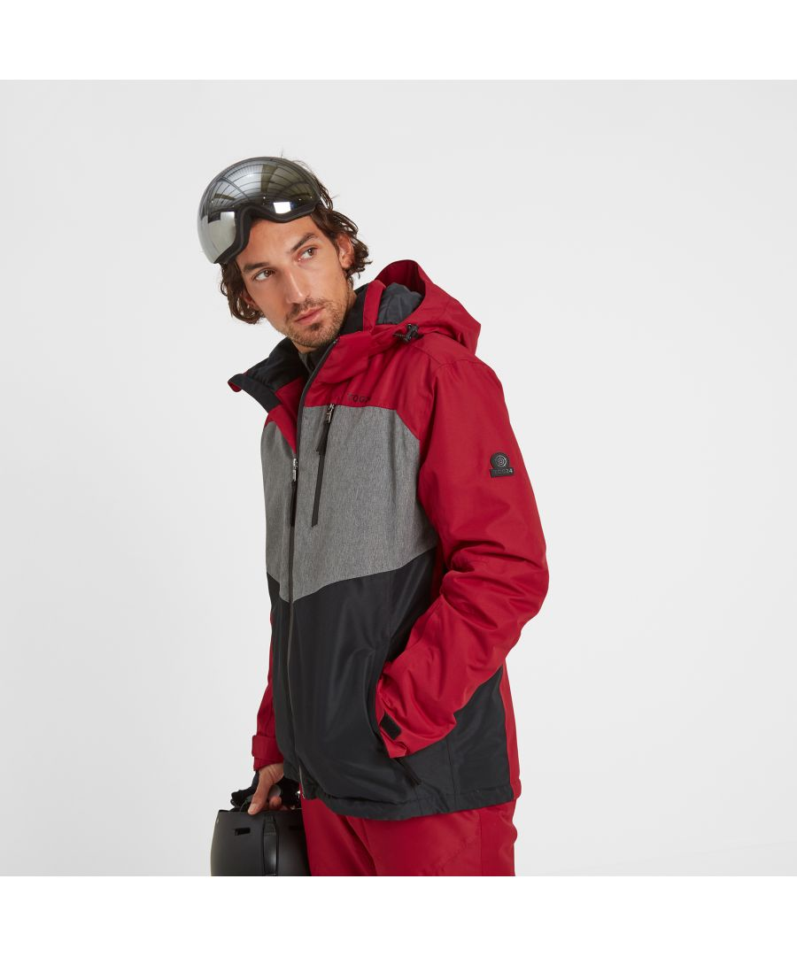 Image for Blade Mens Insulated Ski Jacket Chilli/Grey/Black