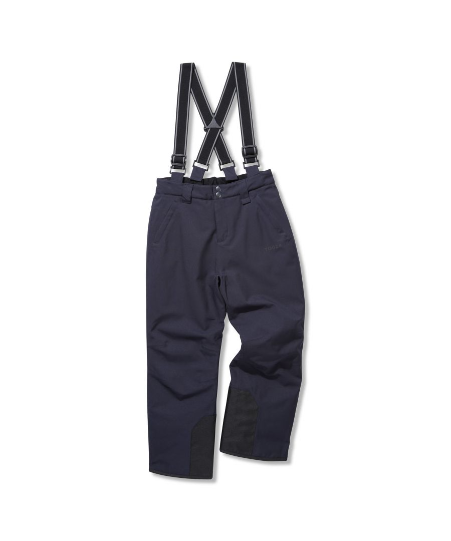 Image for Brent Kids Waterproof Insulated Ski Pants Navy