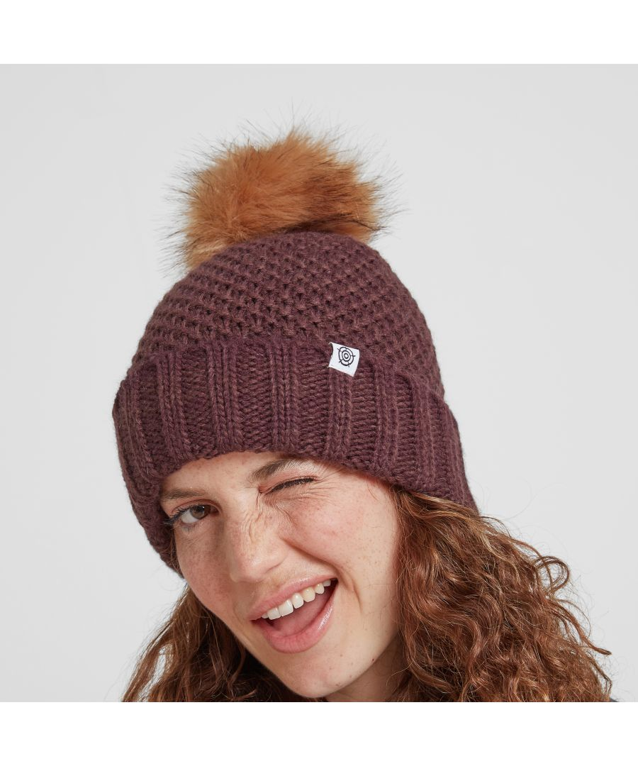 Image for Bristol Knit Beanie Hat Deep Port
