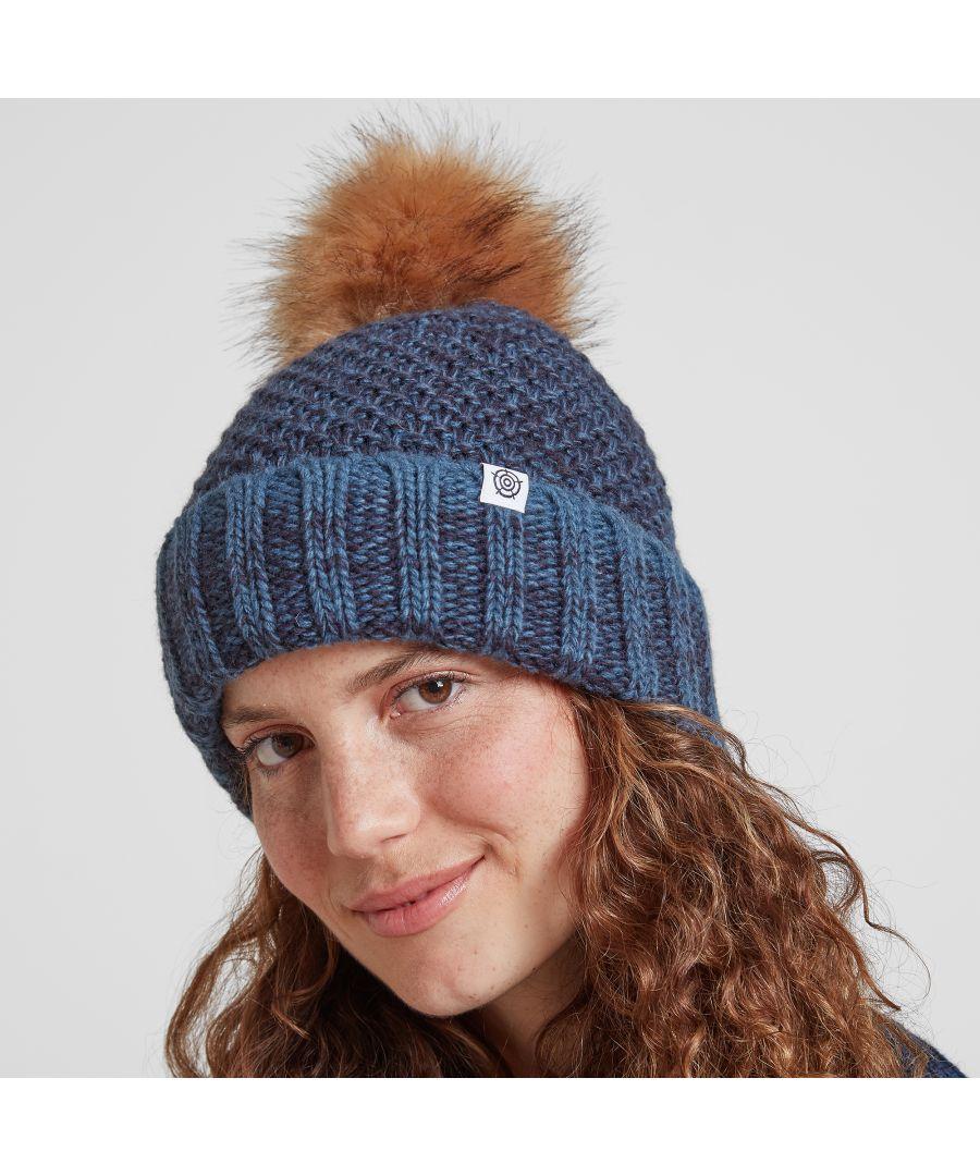 Image for Bristol Knit Beanie Hat Denim
