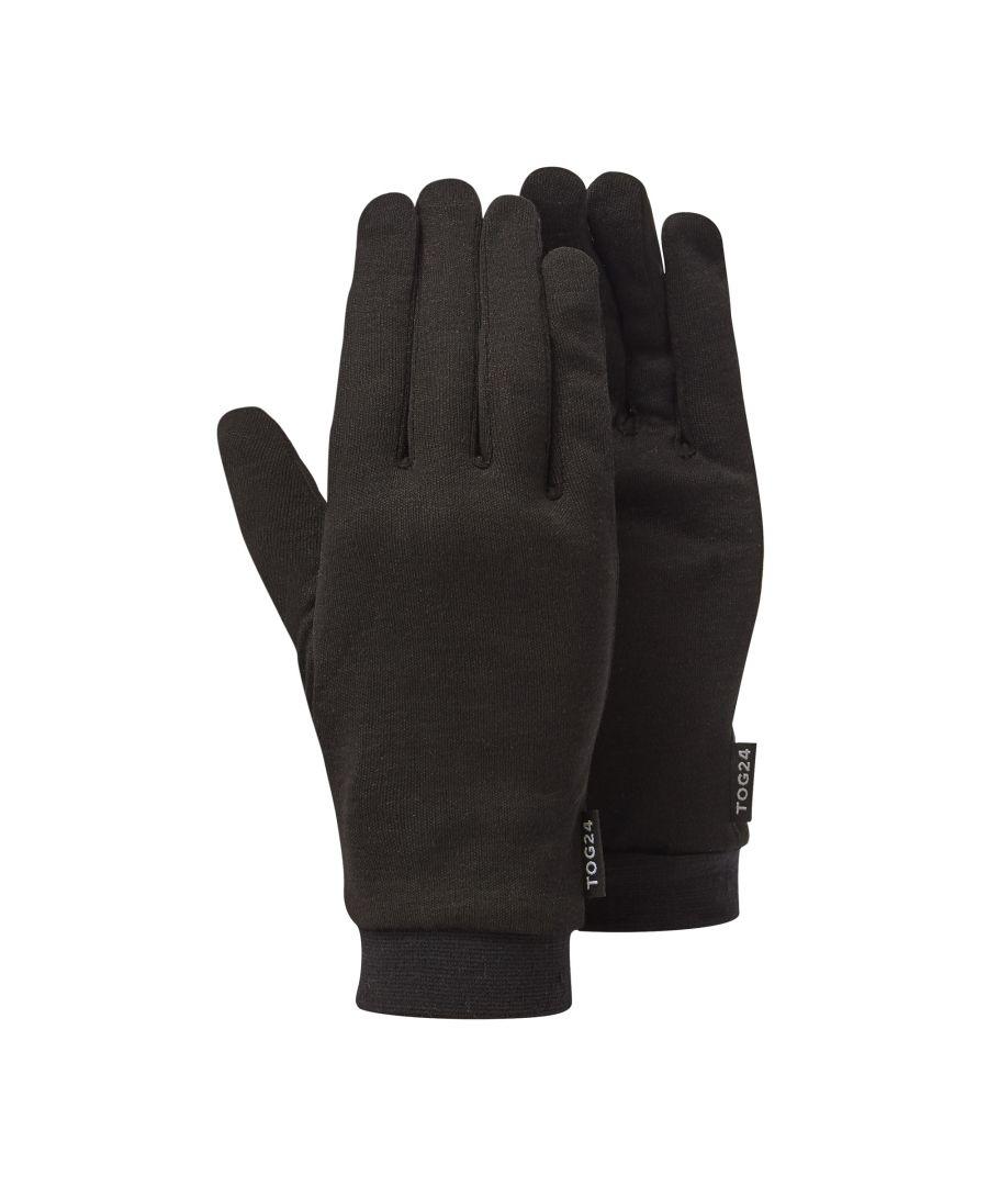 Image for Cocoon Silk Liner Gloves Black
