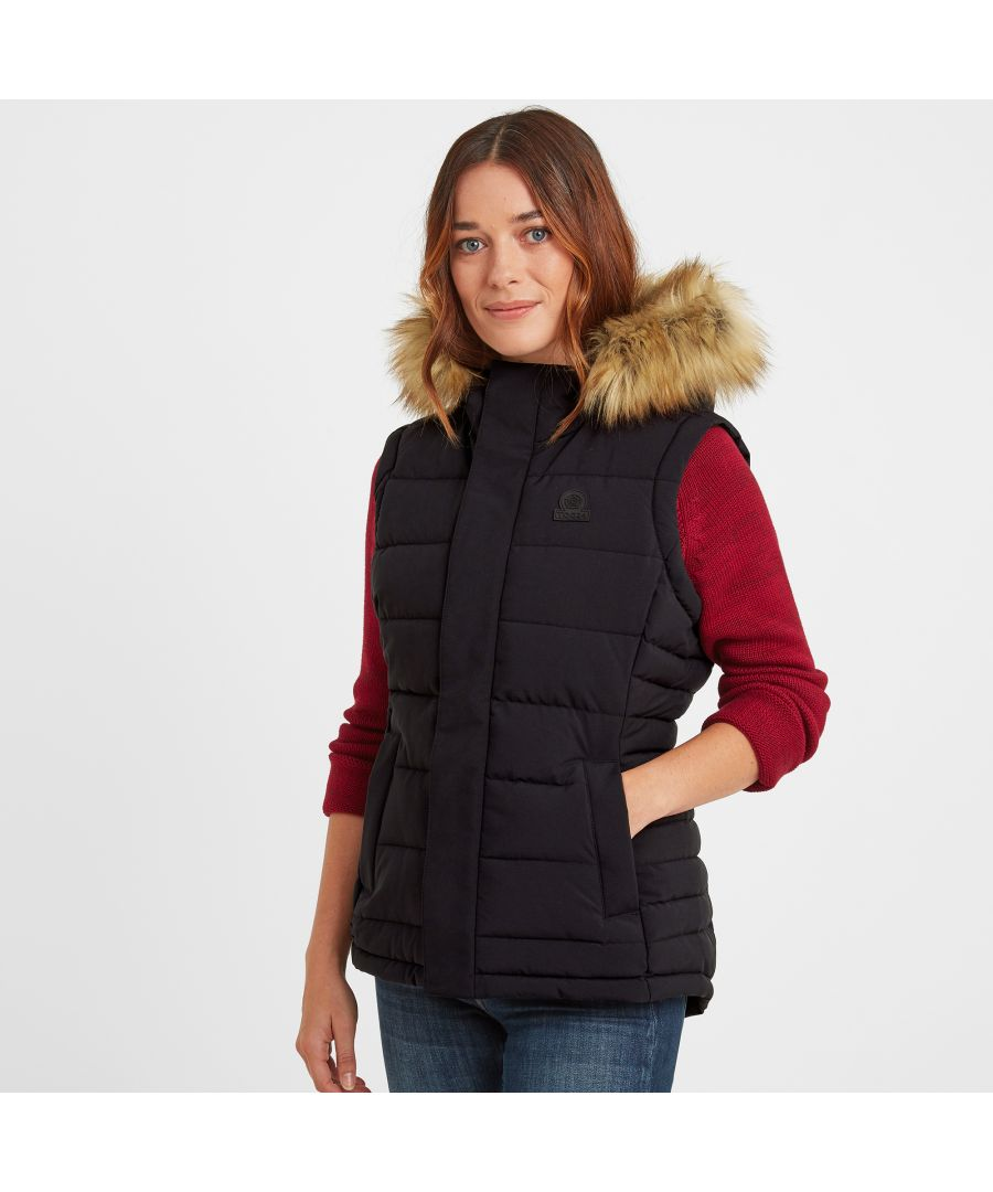 Image for Cowling Womens Insulated Gilet Black