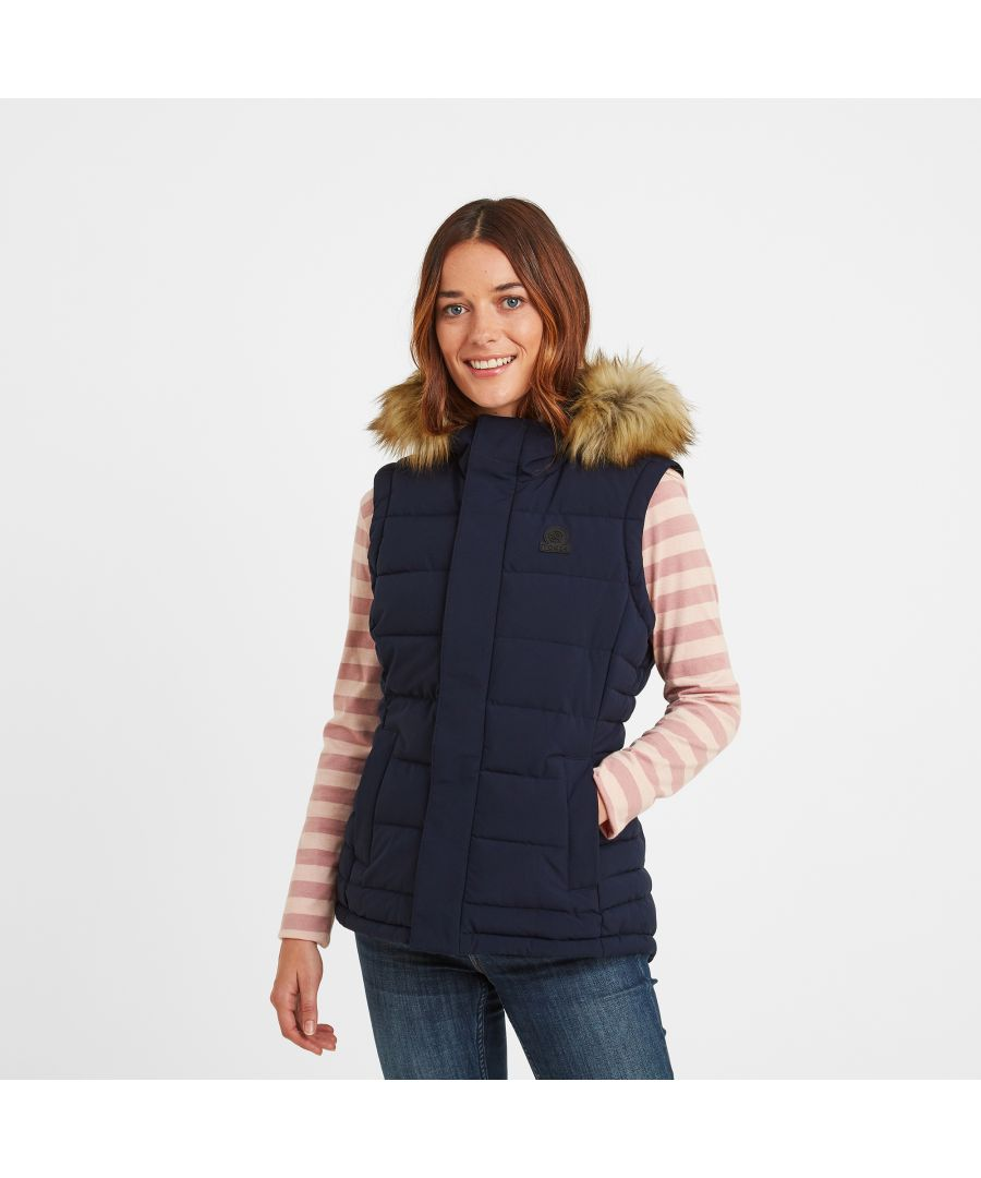 Image for Cowling Womens Insulated Gilet Navy
