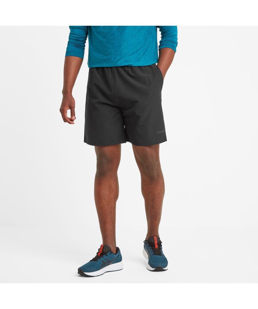 Image for Dawes Mens Running Shorts Black