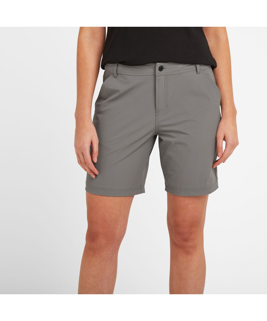 Image for Denver Womens Shorts Light Grey