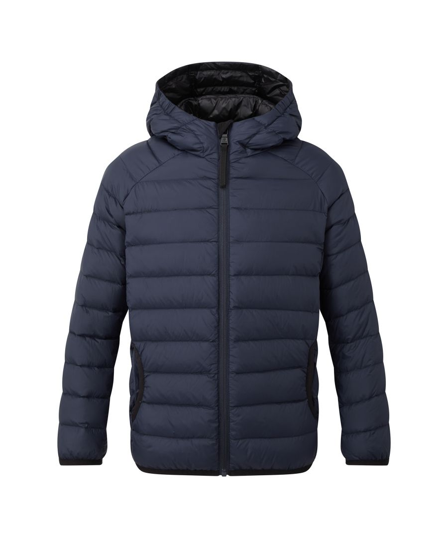 Image for Dowles Kids Hooded Down Jacket Navy