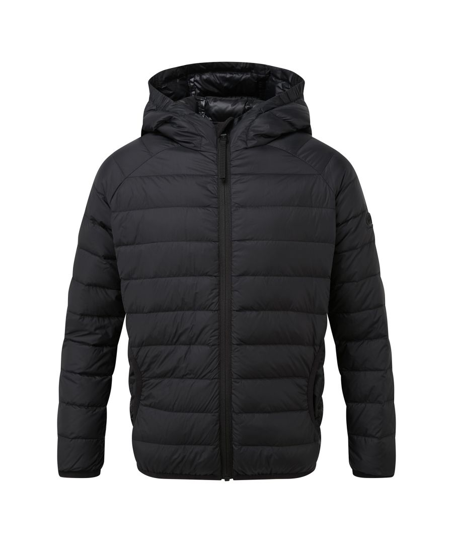 Image for Dowles Kids Hooded Down Jacket Black