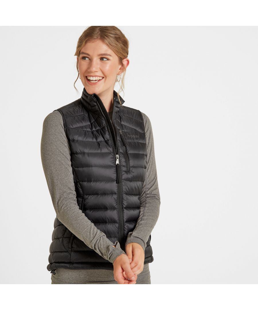 Image for Drax Womens Down Gilet Black
