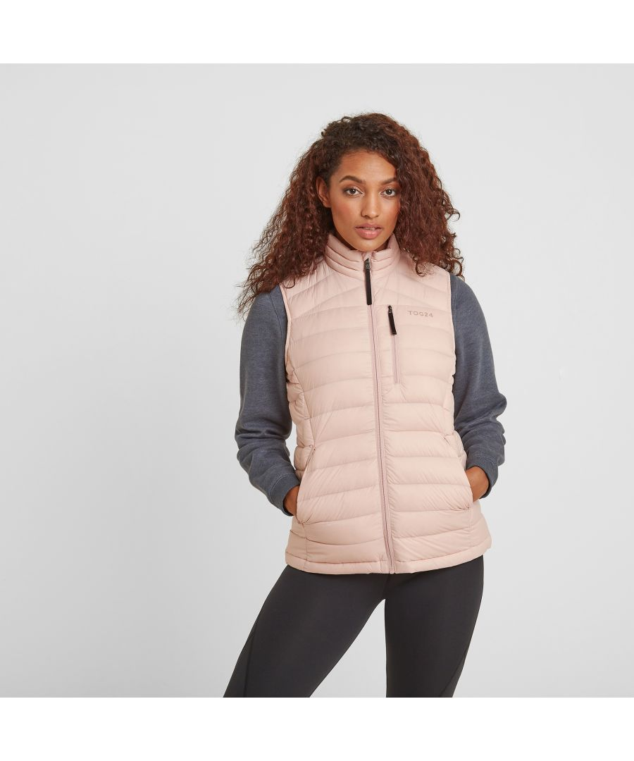 Image for Drax Womens Down Gilet Rose Pink