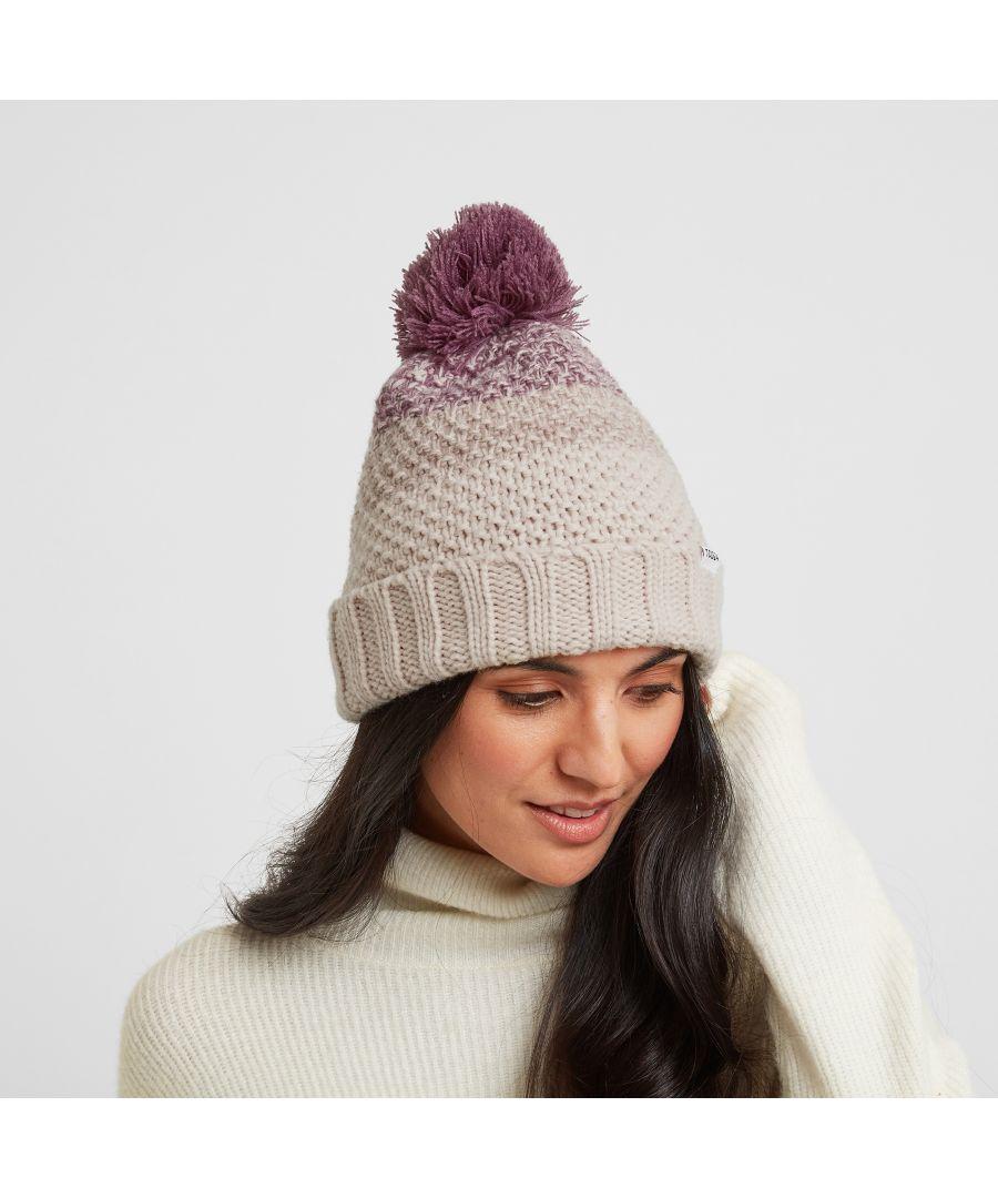 Image for Elcot Knit Hat Rose