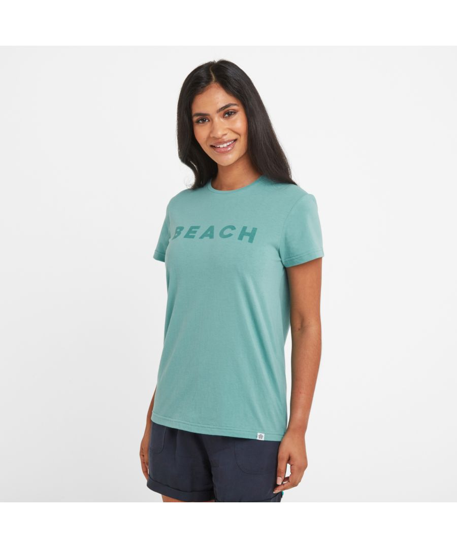 Image for Esther Womens T-Shirt Nile Blue