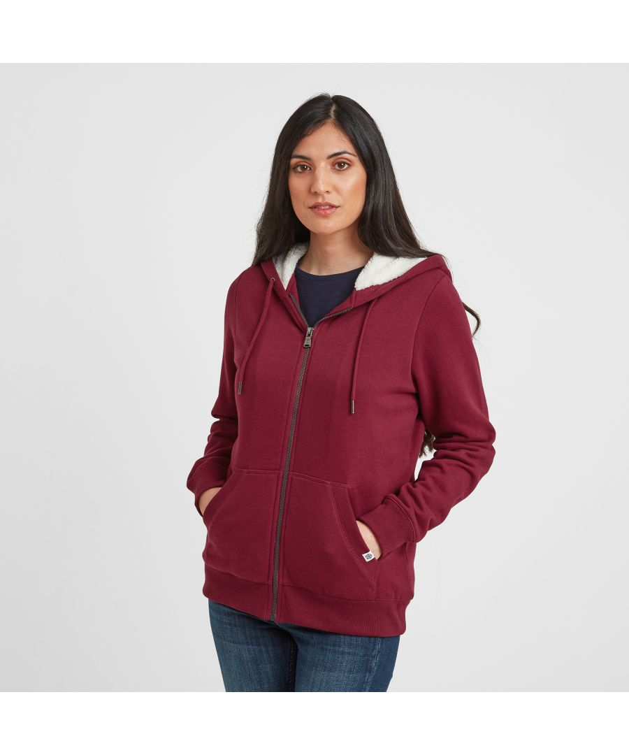 Image for Finch Womens Hoody Raspberry