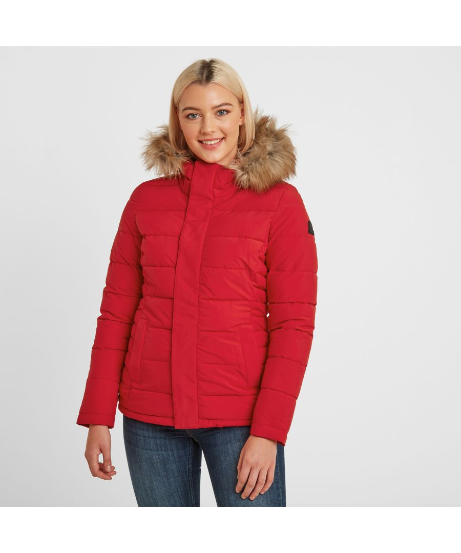 Image for Helwith Womens Insulated Jacket Rouge Red