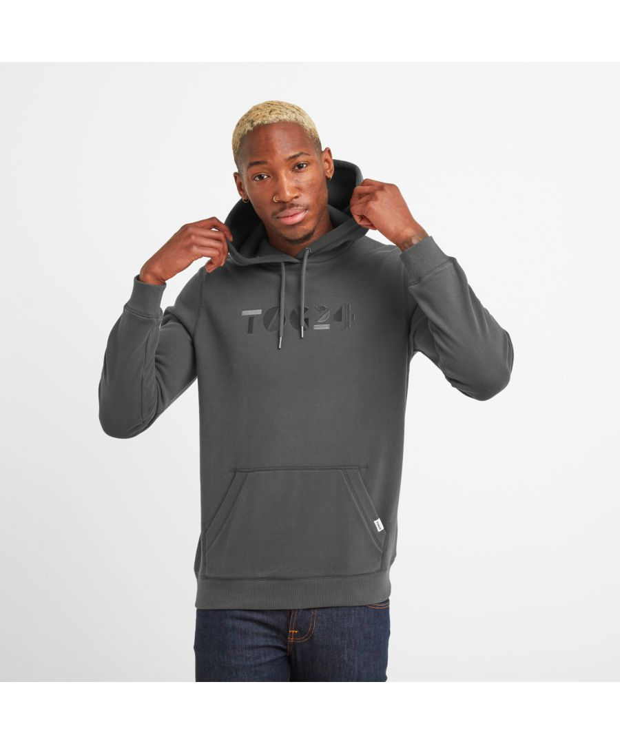 Image for Hexton Mens Hoodie Washed Black