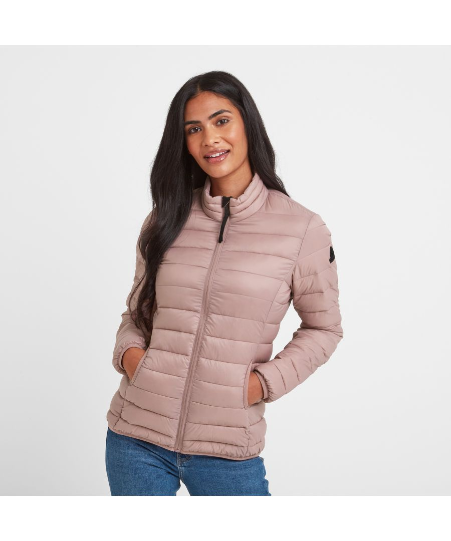 Image for Hudson Womens Thermal Jacket Faded Pink