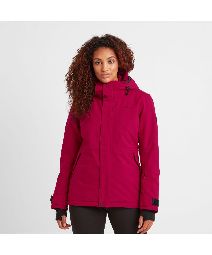 Image for Kannik Womens Ski Jacket Dark Pink