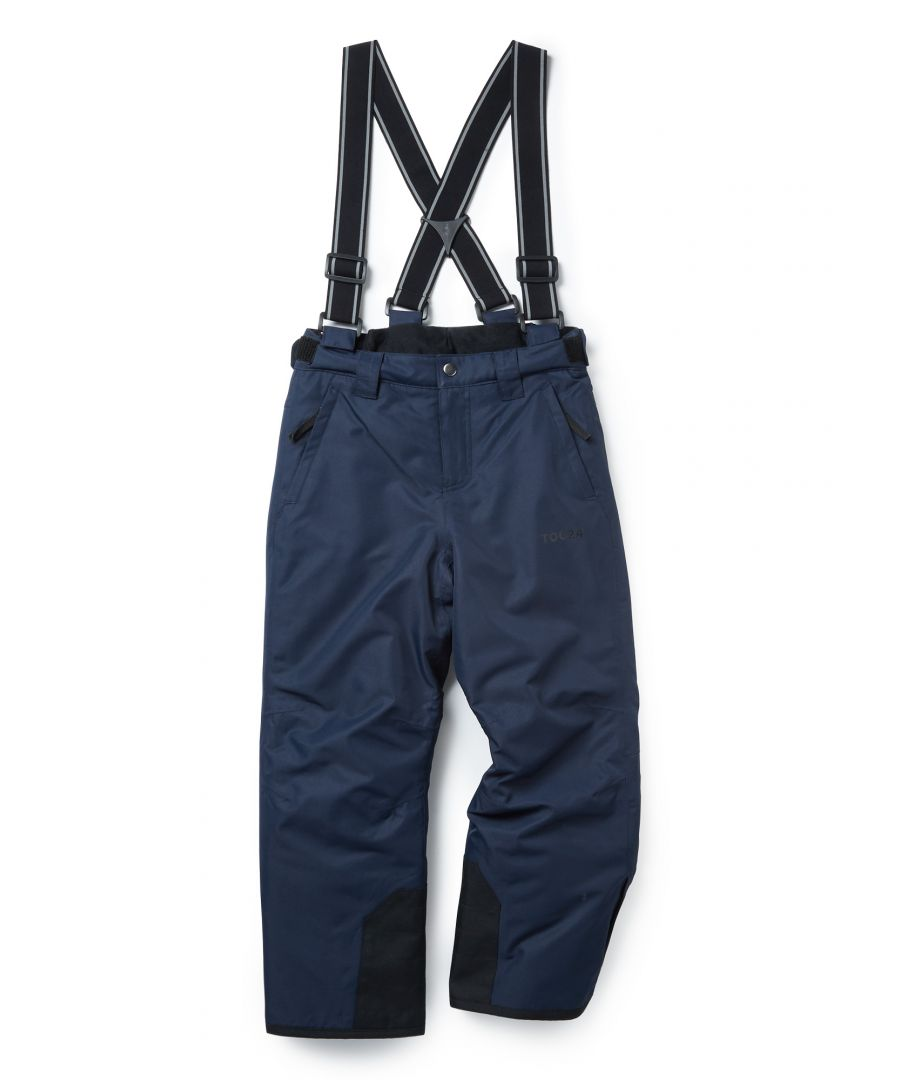 Image for Knot Kids Waterproof Insulated Ski Pants Navy