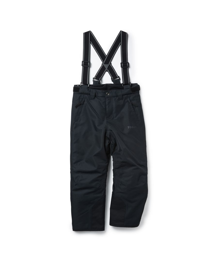 Image for Knot Kids Waterproof Insulated Ski Pants Black