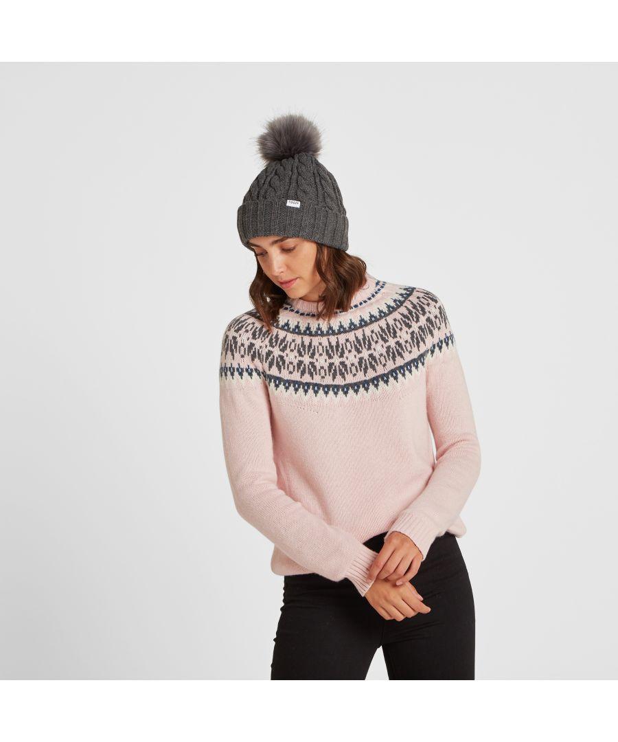 Image for Leedon Knit Hat Dark Grey Marl
