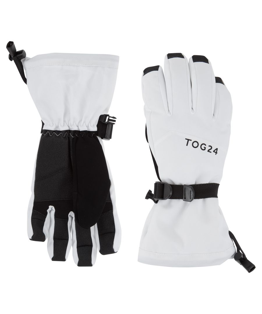 Image for Lockton Waterproof Ski Gloves White