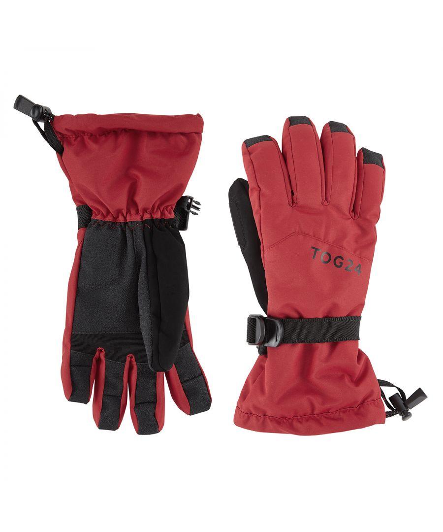 Image for Lockton Waterproof Ski Gloves Chilli Red