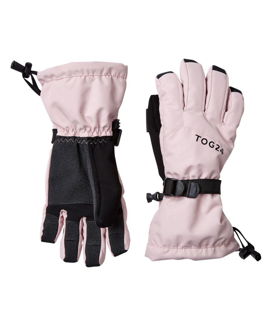 Image for Lockton Waterproof Ski Gloves Rose Pink