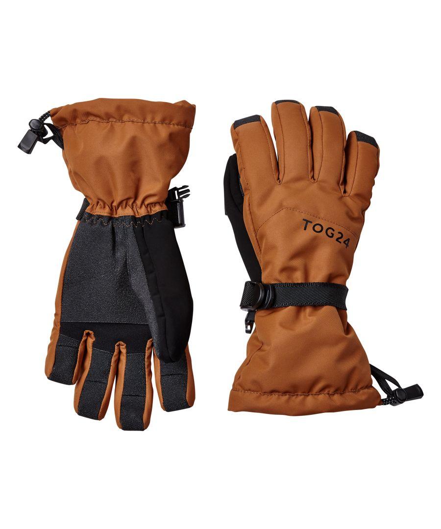 Image for Lockton Waterproof Ski Gloves Amber