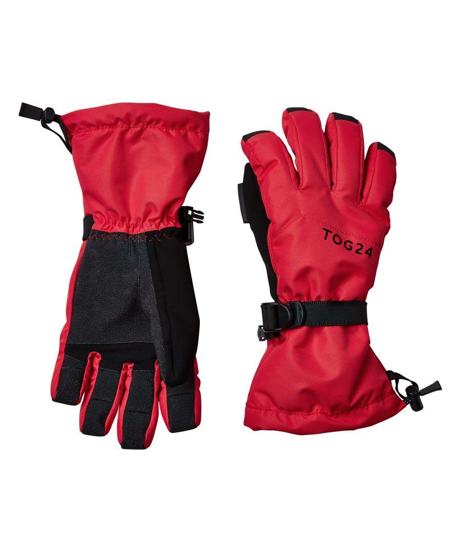 Image for Lockton Waterproof Ski Gloves Rouge Red