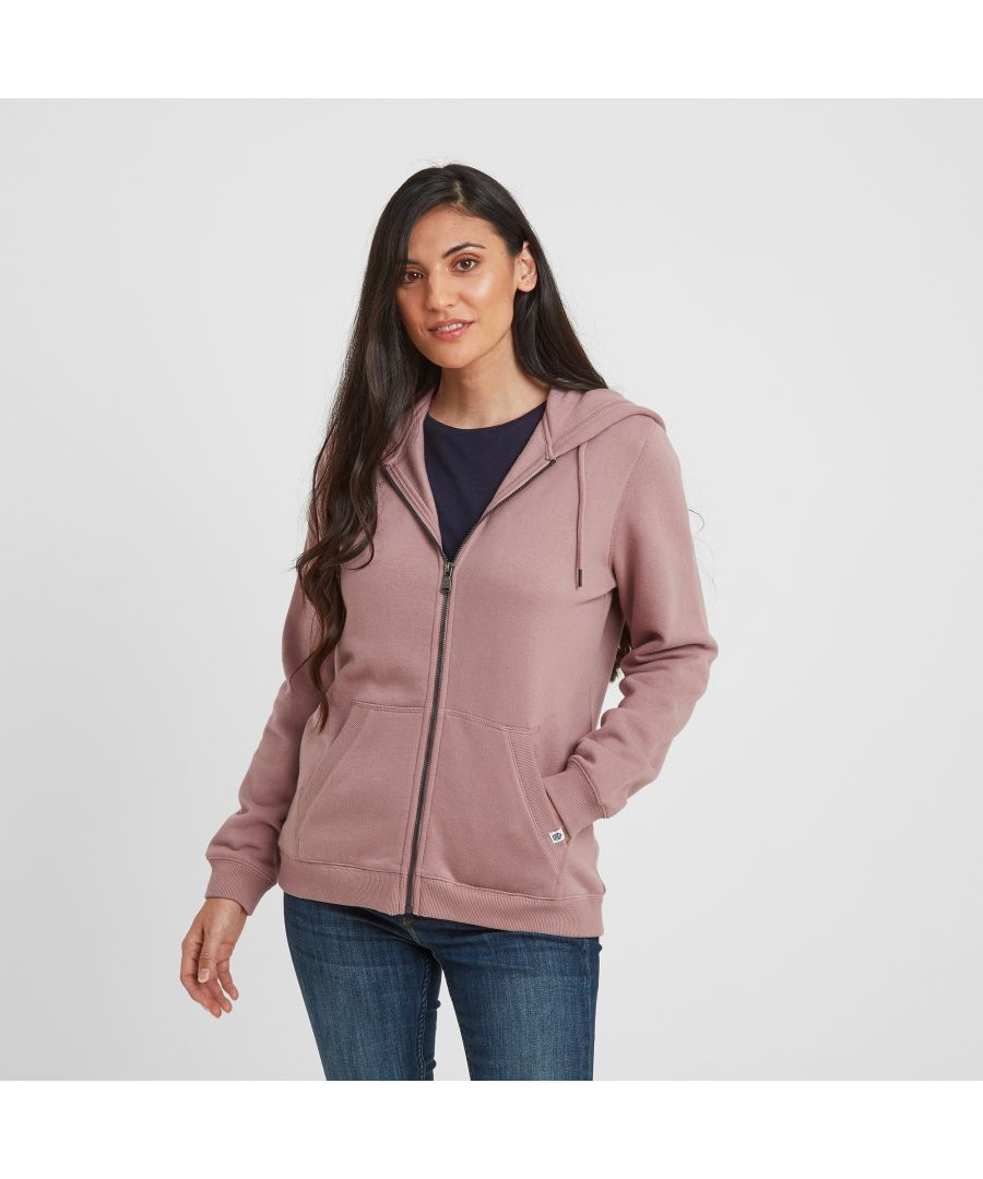 Image for Mia Womens Hoody Faded Pink