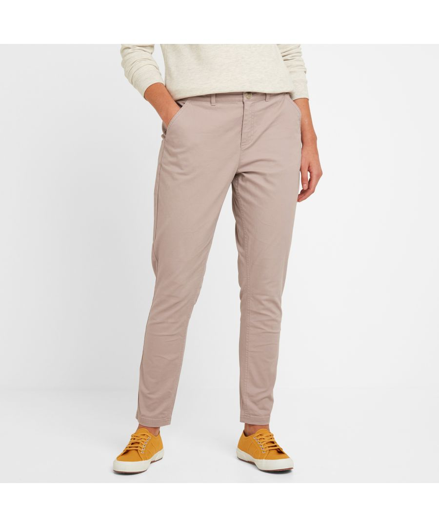 Image for Pickering Womens Trousers Dusky Pink