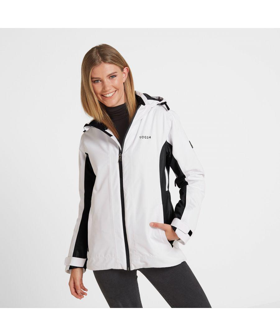 Image for Piper Womens Waterproof Ski Jacket White/Black