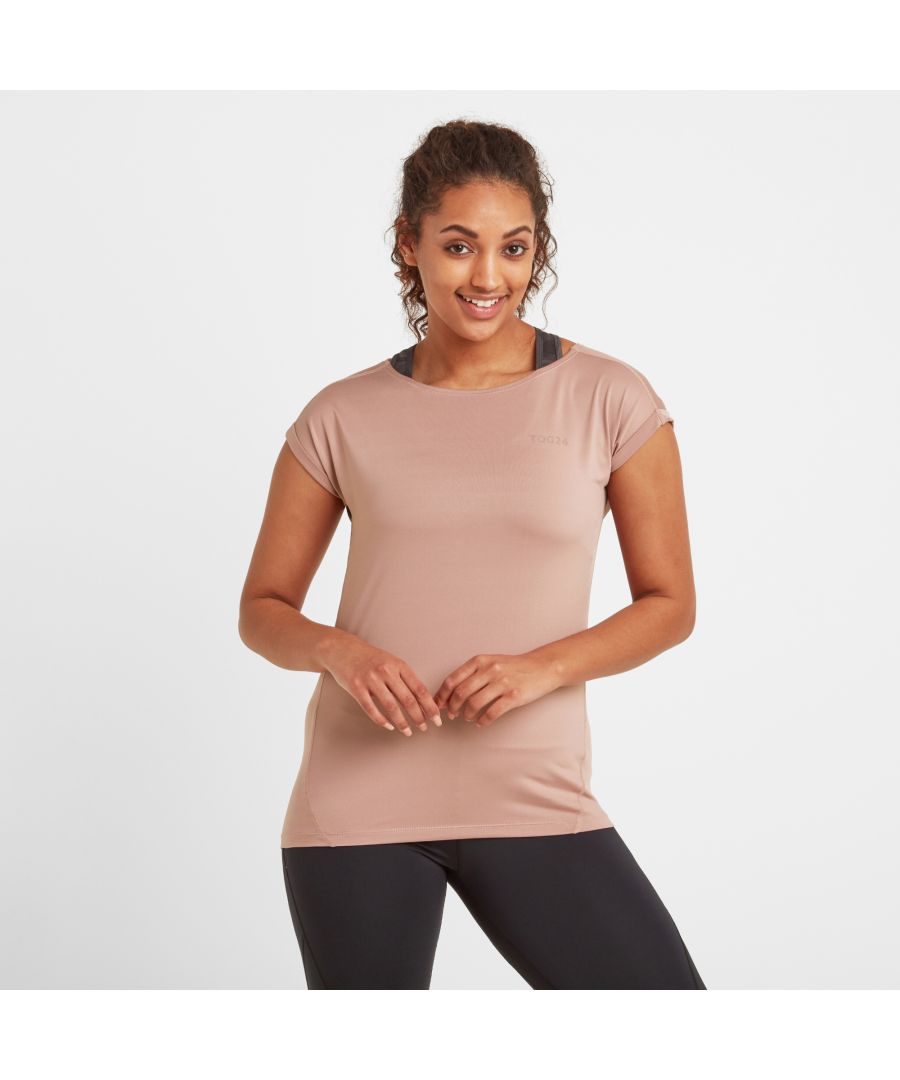 Image for Raywell Womens Tech T-shirt Faded Pink