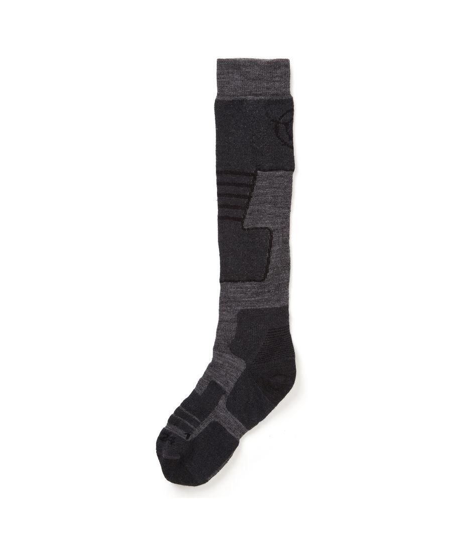 Image for Scheffau Merino Ski Socks Grey Marl