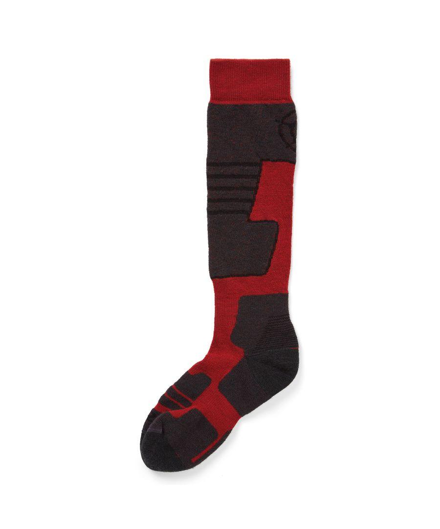 Image for Scheffau Merino Ski Socks Rouge Red